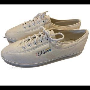 LA Gear 1992 canvas shoes